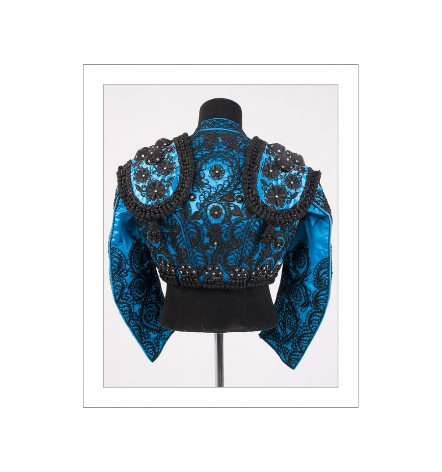 traje de torero azul azabache, Traje de Torero